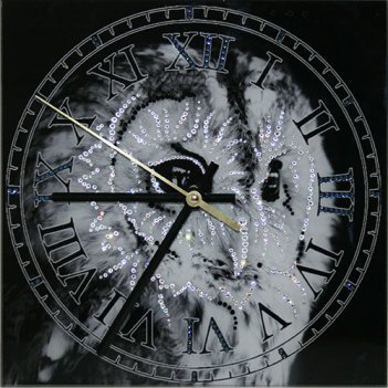 Картина сваровски - часы зоркий взгляд
