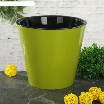 Горшок для цветов 1,6 л, d=16 см фиджи, цвет микс