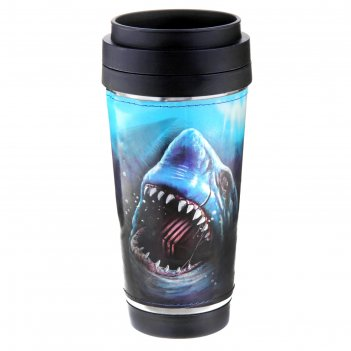 Термокружка акула 400 мл
