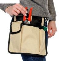 Поясная сумка для работы в саду, 3 кармана