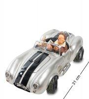 Fo-85082 автомобиль shelby cobra 427 sc silver. forchino
