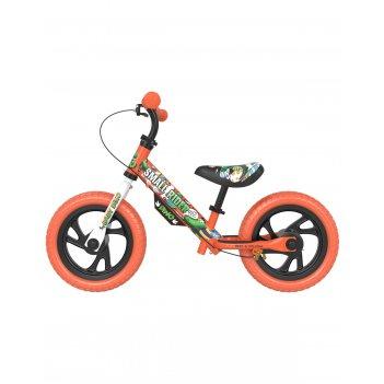 Детский беговел small rider motors (cartoons eva, оранжевый)