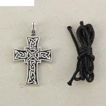 Амулет кельтский лучезарный крест 1595