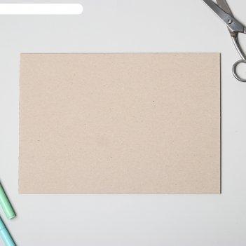 Переплетный картон для творчества (набор 10 листов) 21х30 см, толщина 3 мм