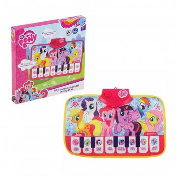 Коврик-пианиноmy little pony, работает от батареек