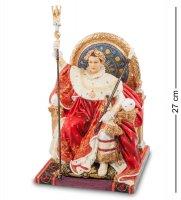 Ws-726 статуэтка наполеон на императорском троне (жан огюст доминик энгр)