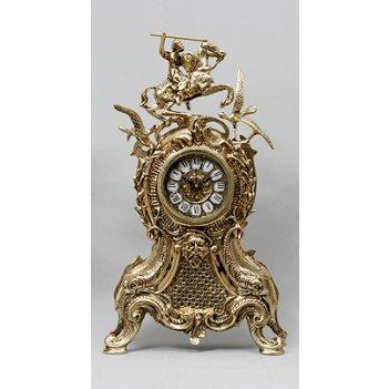 Часы  каранка  бронзовые