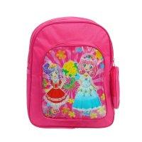 Рюкзак дет 67379, подружки, 25*9*30см, 1 отд, 3 нар кармана, малиновый