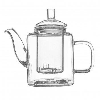 Чайник заварочный 400 мл квадро