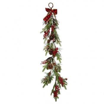 Новогоднее украшение гирлянда, l130 см (без инд.коробки)
