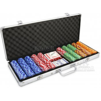 Набор для покера 500 фишек the international