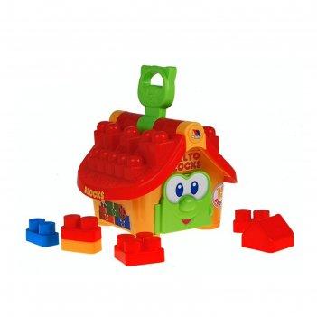 Логический домик «маленький строитель»