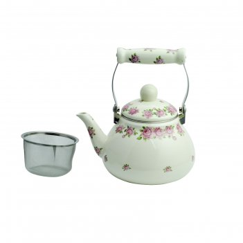 Чайник эмалированный заварочный 1,2 л wr-5117