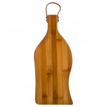 Доска разделочная agness 38*16*1,5 см. бамбук (кор=12шт.)