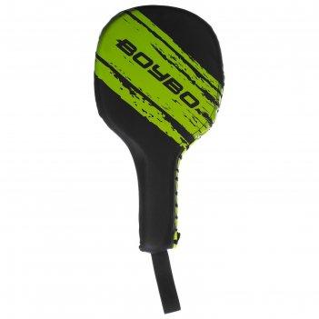 Лапа-ракетка boybo stain, bpr250, флекс, черно-зеленый