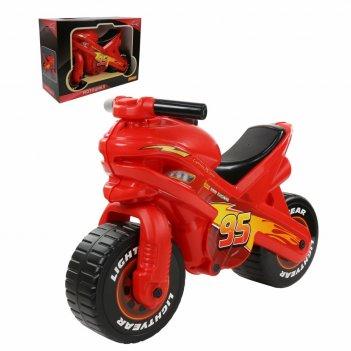 70548 каталка-мотоцикл disney/pixar тачки (в коробке)