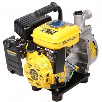 Мотопомпа бензиновая champion gp40, 4т, 2.4 л.с., 1800 вт, d=40 мм, 300 л/