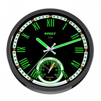 Настенные часы - метеостанция rst 77725