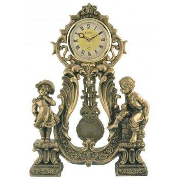 Скульптурные часы из полимерных смол восток к4625-1