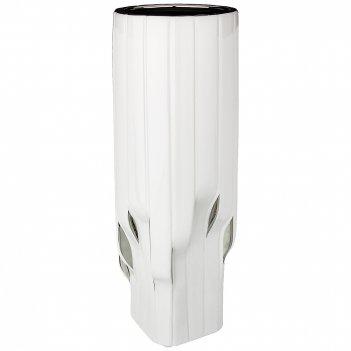 Ваза декоративная серебряная коллекция 14,5*14,5 см высота=39,5 см (кор=8ш