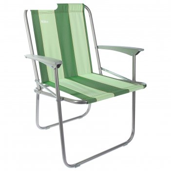 Кресло складное, кс4, 57,5 х 61,5 х 74 см, цвет зелёный