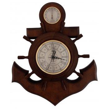 Бытовая метеостанция бм-6 массив дуба (смич) часы