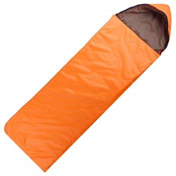 Спальный мешок maclay люкс, с москитной сеткой, 2-слойный, 225 х 70 см, не