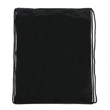 Сумка для сменной обуви универсальная черная