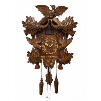 Настенные часы с кукушкой сq-055 соловей в дубовой роще