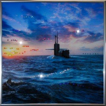 Картина сваровски - подводная лодка