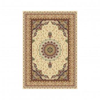 Прямоугольный ковёр buhara d027, 240 х 400 см, цвет cream