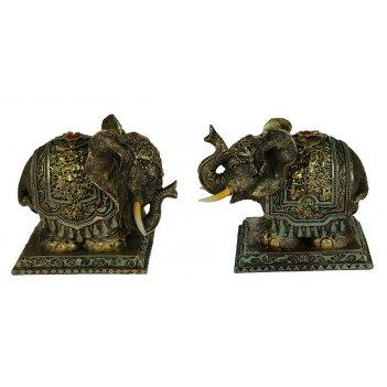 Фигурка декоративная слон 14*10*11см