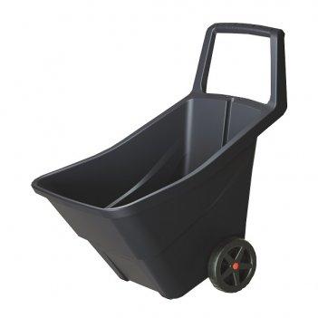 Садовая тележка prosperplast load   go iii 95л, черный