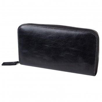 Портмоне-клатч, цвет черный, серия каир, арт.197-02