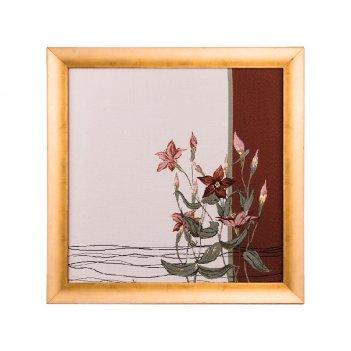 Гобеленовая картина кофейный нектар 53х53 см.