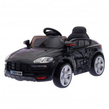 Электромобиль «порше», 2 мотора, eva колёса, активная подвеска, кожаное си
