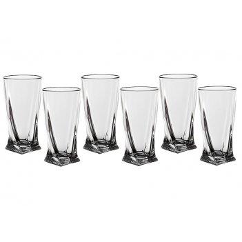 "Набор стаканов для сока из 6 шт.""квадро"" 350 мл."