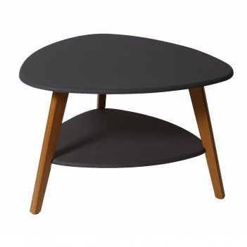 Стол журнальный «бруклин», 770 x 780 x 500 мм, цвет графит