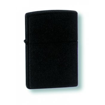 218 зажигалка plain black matte zippo