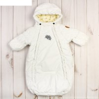 Конверт для малышей eden, рост 62 см, цвет белый 00020_м