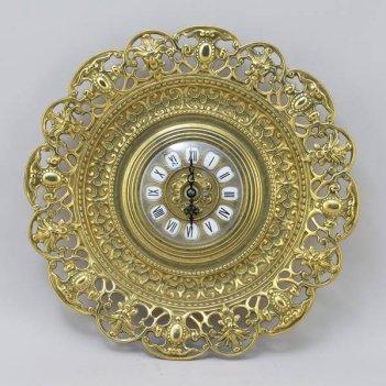Часы настенные «кружева»