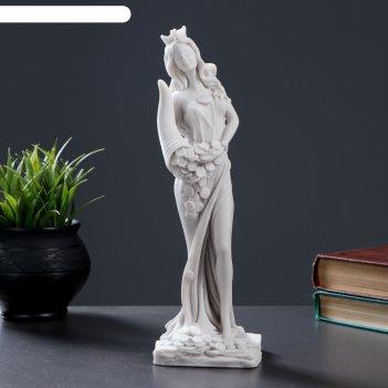 Статуэтка фортуна мраморная крошка