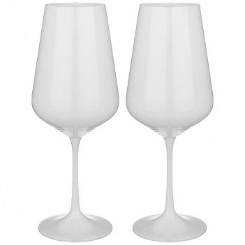Набор бокалов из 2 штук total  white 450 мл высота 24 см