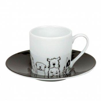Koenitz кофейная пара эспрессо забавные собаки