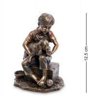 Ws-955 статуэтка мальчик с собакой