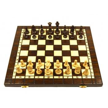 Шахматы, шашки, нарды лев, 40х20х4,5см, польша