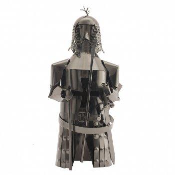 Подставка для бутылки рыцарь, l27 w15 h31 см