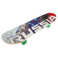 Скейтборд нв-147, размер 62x16 см, колеса pvc d= 50 мм