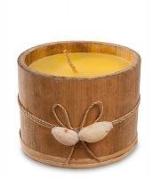 36-006 свеча в бамбуке (о.бали) бол.