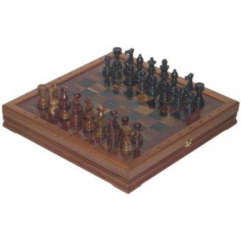 Шахматы каменные европейские (высота короля 3,50) 43х43см